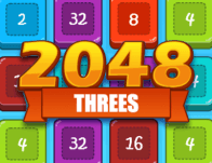 Play 2048 Threes