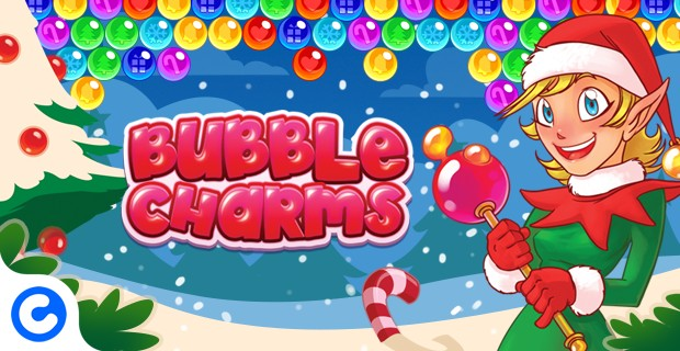 Jouer Bubble Charms Kerstmis
