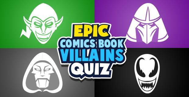 Jugar Los villanos de las revistas de historietas
