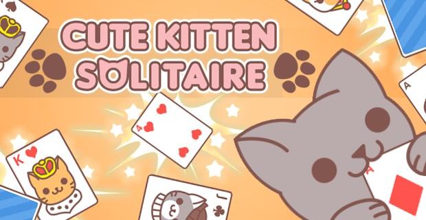 Play Cute Kitten Solitaire