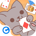 Zagraj Cute Kitten Solitaire