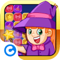 Играть Cute Puzzle Witch