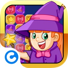 Cute Puzzle Witch - NewGames