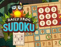 Play Daily Frog Sudoku