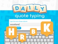 Play Daily Quote Typing