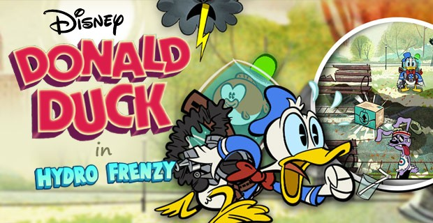 Play Donald Duck Hydro Frenzy