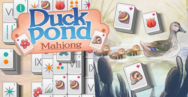 Play Duck Pond Mahjong