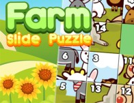 Play Farm Slide Puzzle