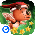Играть Atom & Quark: Flappy Christmas