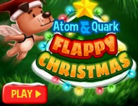 Play Atom & Quark: Flappy Christmas
