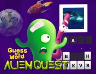 Play Guess the Word: Alien Quest