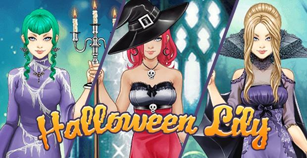 开始 Halloween Lily