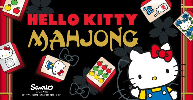 Play Hello Kitty Mahjong