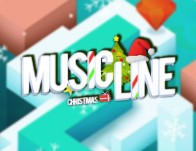 Play Music Line Christmas