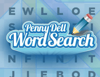 Play Penny Dell Word Search