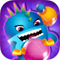 Spelen Bubble Crush: Planet Defense