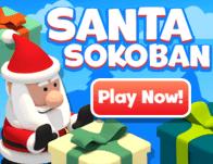 Play Santa Sokoban