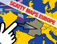 Play Scatty Maps Europe
