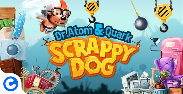 Играть Atom & Quark: Scrappy Dog