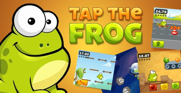 Spielen Tap The Frog