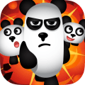 Spielen Three Pandas