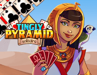 Play Tingly Pyramid Solitaire