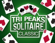Play Tri Peaks Solitaire Classic