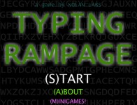 Play Typing Rampage