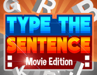 Play Typing the Sentence  : Movie