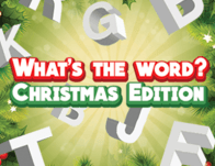 Play What's the Word? Christmas Edition